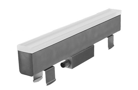 New Continuous Linear In-grade Walk Over LED Luminaire
