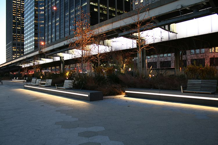 east river nyc led luminaire outdoor lighting electrix