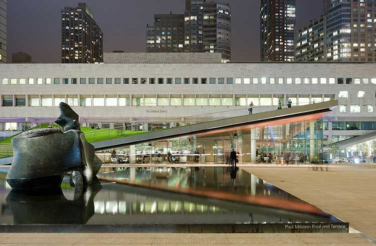 lincoln center nyc led luminaire outdoor lighting electrix